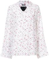R 13 Floral Print Shirt