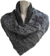 Armani Collezioni Grey Rabbit Knitwear for Women