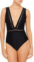 Ted Baker POINTELLE DEEP PLUNGE 1 PIECE