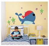 BuySeasons Whale Home Room Decor Wall Decal