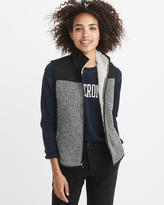 Abercrombie & Fitch Sherpa-Lined Vest
