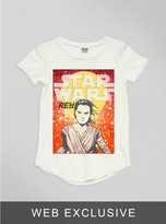 Junk Food Clothing Toddler Girls The Force Awakens 3po R2d2 Tee-sugar-3t