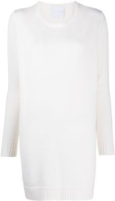 Antonella Rizza Knitted Merino-Blend Dress