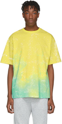 Clot Yellow Stars Allover T-Shirt