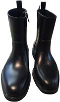 Salvatore Ferragamo Black Rubber Boots