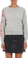 RE/DONE Women's The Crawford Cotton-Blend Sweatshirt