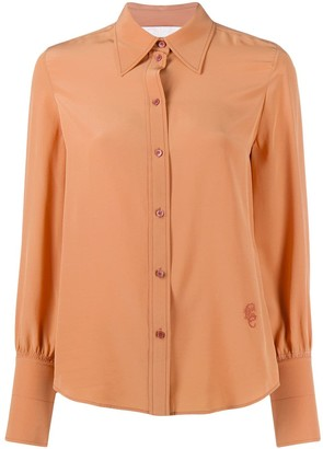 Chloé Pointed Collar Shirt