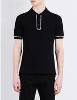 Givenchy Chain cotton polo shirt