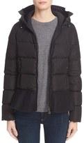 Moncler Women's Nesea Peplum Hem Down Puffer Jacket