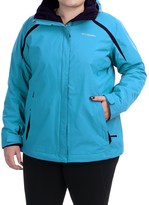 Columbia Blazing Star Interchange Jacket - 3-in-1 (For Plus Size Women)