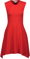 Stella McCartney Cutout asymmetric cady mini dress