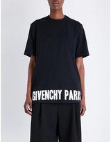 Givenchy Logo-print Cotton-jersey T-shirt