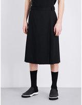 Mcq Alexander Mcqueen Mid-rise Wool Skort