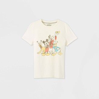 Disney Boys' Mickey & Friends Short Sleeve Graphic T-Shirt - Off-White Store