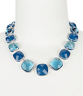 Anne Klein Cubic Zirconia Collar Necklace