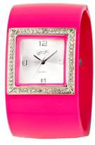 Eton Ladies Watch 2791-P with Silver Dial and Pink Strap