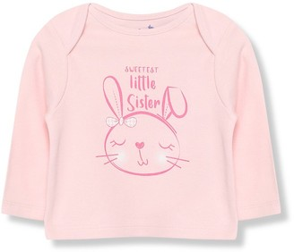 M&Co Little sister t-shirt (Tinybaby-18mths)