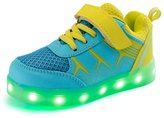 Eclimb Shoes Boys Girls Flashing Fashion Sport Sneakers USB Charging LED Shoes (Little Kid/Big Kid)