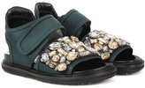 Marni Crystal Embellished Sneakers