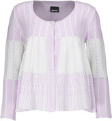 Just Cavalli Stretch jacquard-knit cardigan