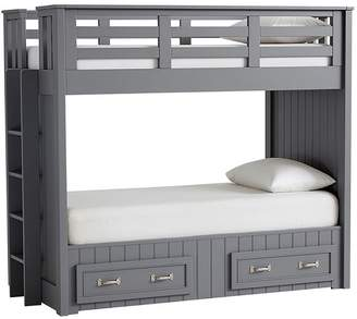 Pottery Barn Kids Belden Twin-Over-Twin Bunk Bed