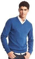 Gap Cotton V-neck sweater