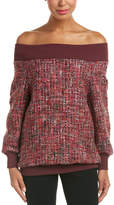 Escada Wool-Blend Top