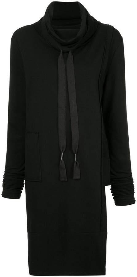 Taylor roll neck oversized sweatshirt