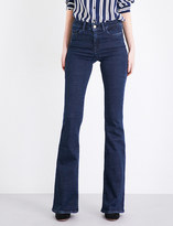 MiH Jeans Bodycon Marrakesh flared high-rise jeans
