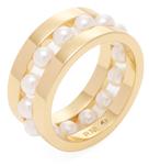 Rebecca Minkoff Two-Tone Beaded Ring