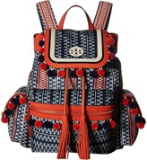 Tory Burch Scout Nylon Pom Pom Backpack Backpack Bags