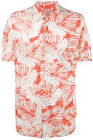 Majestic Filatures palm print shirt