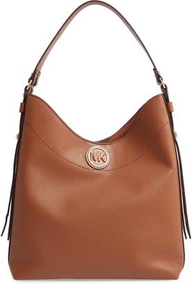 MICHAEL Michael Kors Large Leather Hobo Bag