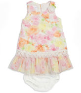 Iris & Ivy Baby Girls Floral Dress and Bloomers Set