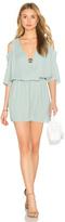 Krisa Open Shoulder 3/4 Sleeve Dress
