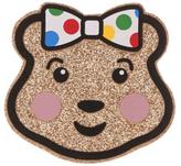 George Children in Need Sparkling Blush Bear Badge