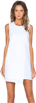 Fifteen-Twenty Fifteen Twenty Asymmetrical Shift Dress