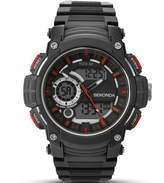 Sekonda Men's Digital Watch with Black Dial Digital Display and Black Plastic Strap 1161.05