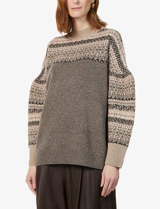 Whistles Fair Isle wool jumper
