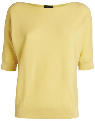 Akris Short-Sleeved Knit Top