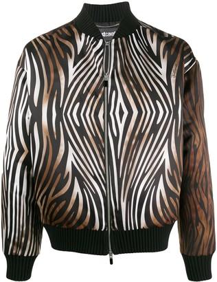 Just Cavalli Tiger Print Bomber Jacket