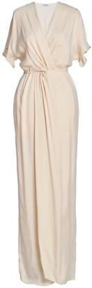 AILANTO Nude Wrap Dress