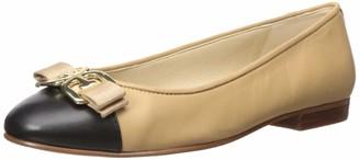 Sam Edelman Women's Mage Ballet Flat Molten Gold Metallic Leather 9 M US