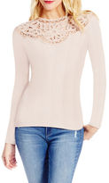Jessica Simpson Adora Long Sleeve Lace Top