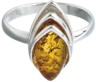 Nature D'ambre Nature d 'Ambre 3111127Women's Ring Silver 925/1000Amber