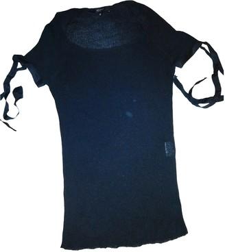 Gucci Black Silk Knitwear