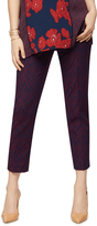 A Pea in the Pod Secret Fit Belly Jaquard Straight Maternity Pants