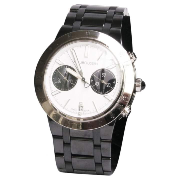 Mauboussin White gold watch