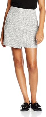 New Look Women's Wrap Fleck Skirt