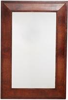 Rejuvenation Large Mirror w/ Mahogany Burl Frame